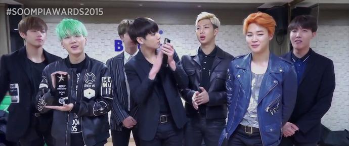 [PT-BR] BTS @ Resultados do Soompi Awards 2015