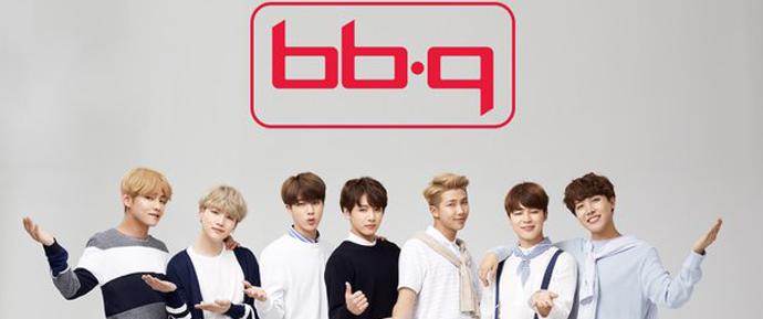 "O BTS se torna a face do ""BBQ Chicken""!"
