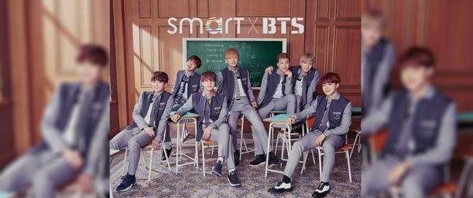 BTS e Gfriend irão lançar uma música dia 4 de junho para a campanha da SMART