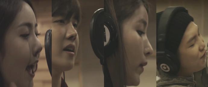 🎥 Making Filme do MV da campanha 'Família' da SMART com BTS e GFriend