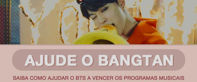 [GUIA] Ajude o BTS a ganhar nos programas de música!