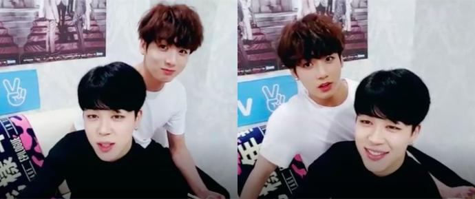[V APP] 06.05.16 – Jimin & JungKook (HYYH On Stage: Epilogue Live)