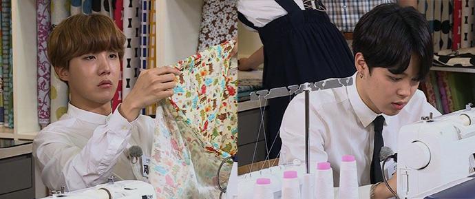 [FOTOS] 17.07.16 – Fotos teasers de Jimin e J-Hope no próximo show 'God's Workplace' da SBSNOW