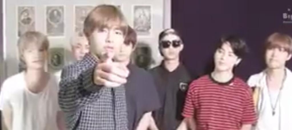  Mensagem do BTS para a 4ª audição da Big Hit