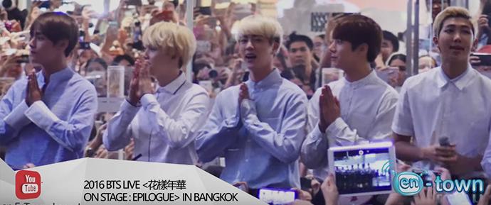 🎥 Conferência de imprensa do BTS em Bangkok