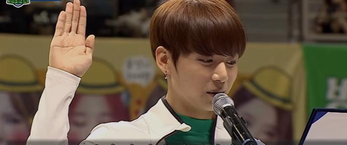 🎥 JungKook na Cerimonia de Juramento @ ISAC Chuseok Special 2016