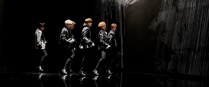 "🎥 Coreografia de ""Blood, Sweat & Tears"""