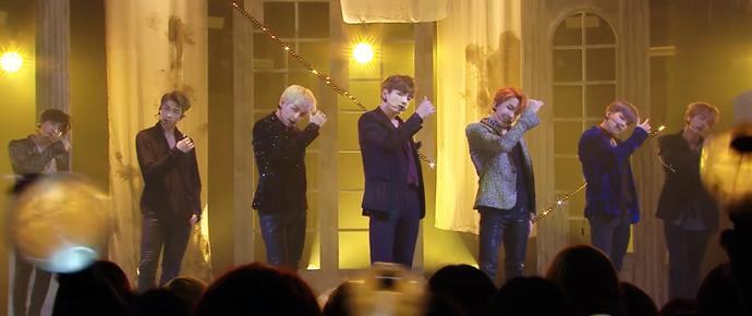 """🎥 Apresentação de """"Blood, Sweat & Tears"""" @ Music Core"""