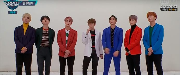 🎥 O M!Countdown postou um vídeo do BTS no seu seguimento: 'Dance Dance Together'