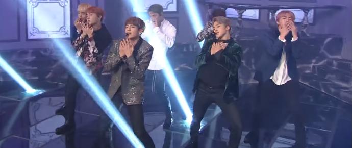 "🎥 ""Blood, Sweat & Tears"" @  Music Bank."