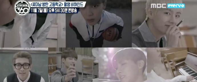 "🎥 Making of de ""Flower Boys Bangtan High School"""