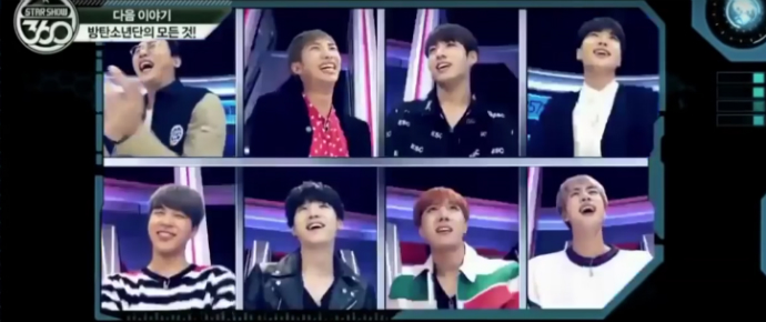 🎥 Teasers do BTS no Star Show 360