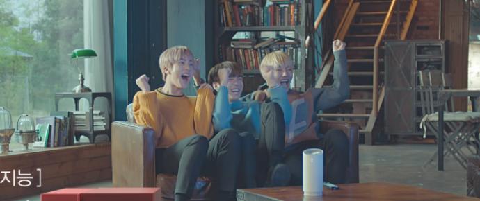 🎥 BTS no CF oficial da SK Telecom