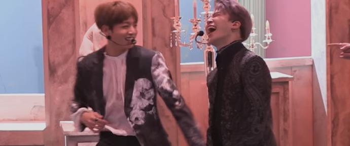 [BANGTAN BOMB] Melhor imitação da dança do Jimin por Jungkook