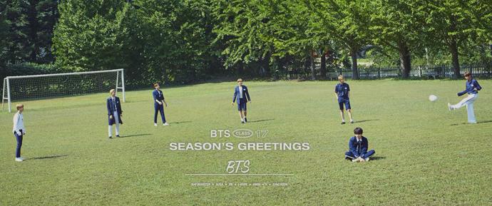 📷 Álbum Especial – BTS Season's Greetings 2017