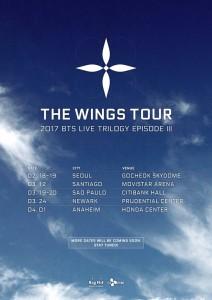 Resultado de imagem para imagem da turnê The Wings Tour bts