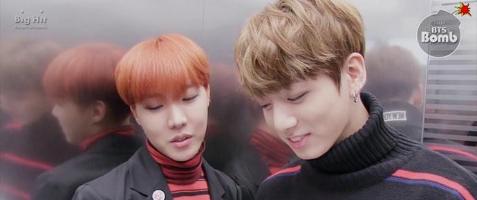 [BANGTAN BOMB] J-Hope e JungKook como MCs especiais do Music Core