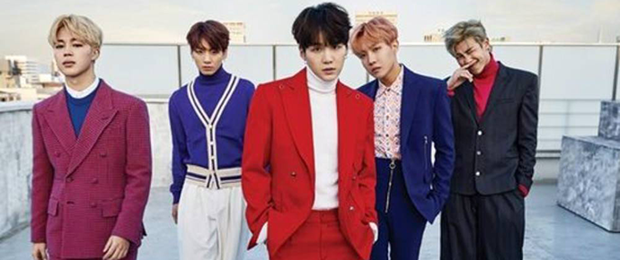 📷 BTS x Singles Korea