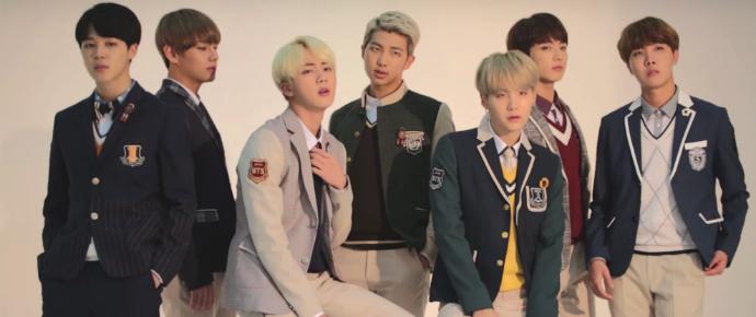 🎥 BTS x Smart School Uniform