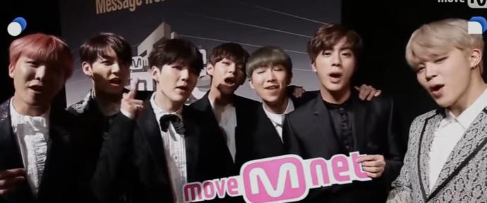 🎥 BTS para a Mnet