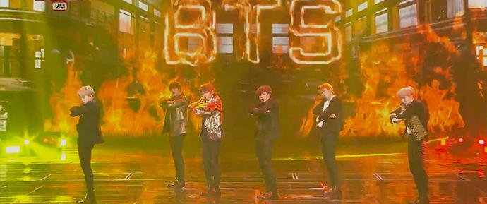 """🎥 """"Blood,Sweat & Tears"""" e """"FIRE"""" @ KBS Song Festival"""
