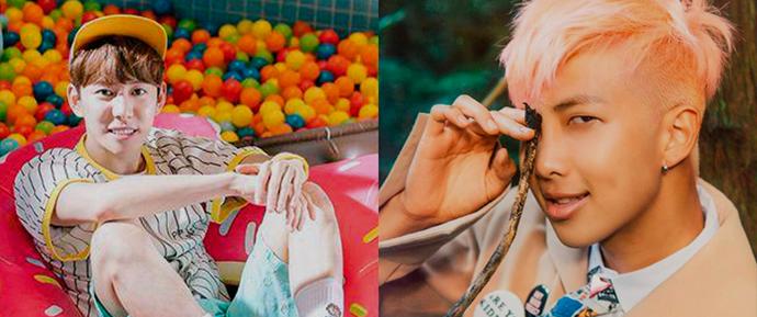 "Park Kyung (Block B) quer Rap Monster em ""Problematic Men"""