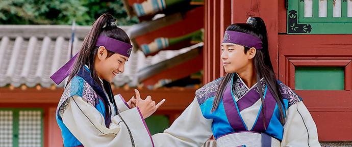 📷 Kim Taehyung em Hwarang