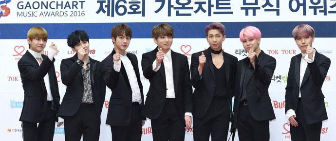 BTS @ 6th Gaon Chart Music Awards