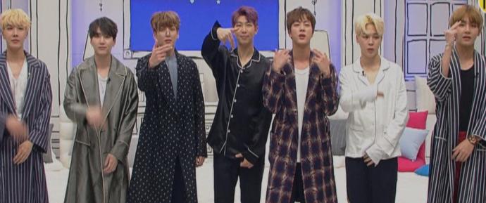 🎥 Clips do BTS no 'New Yang Nam Show'