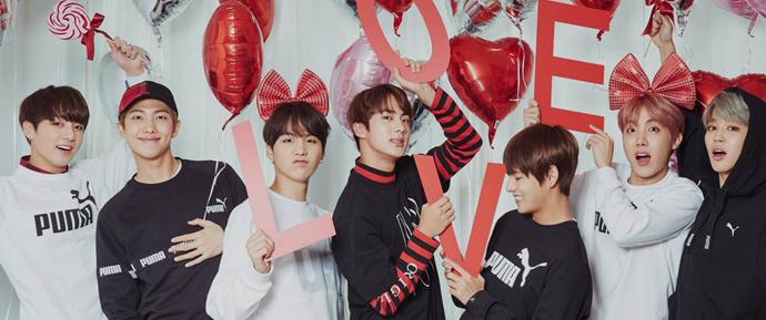📷 BTS x PUMA – Valentine's Day