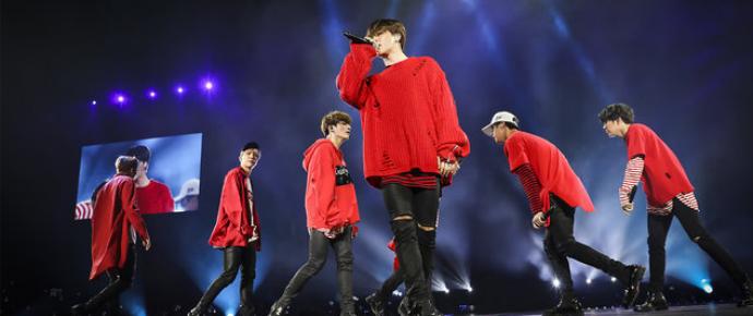 BTS começa sua turnê nos Estados Unidos com show esgotado no Prudential Center