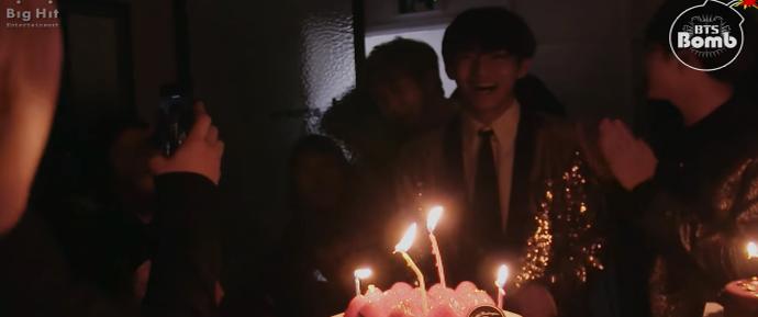 [BANGTAN BOMB] Feliz aniversário para  V @ KBS Song Festival 2016