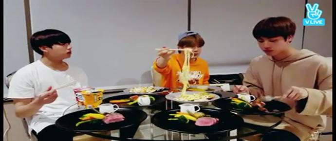 [V APP] EAT Jin + JM&JK