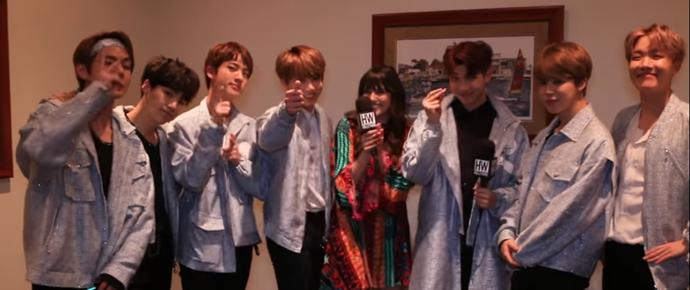🎥 Entrevista do BTS para HollywireTV