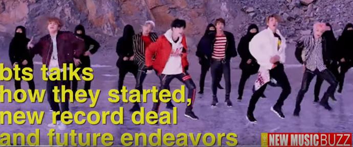 🎥 The New Music Buzz entrevista  BTS