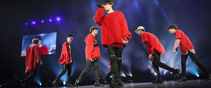 O BTS prova por que é o maior grupo de K-Pop da atualidade com show em LA