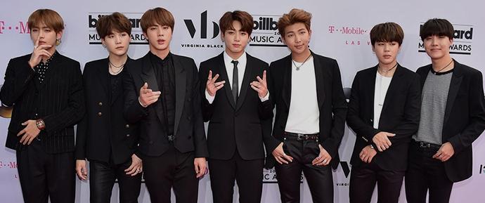 O enorme reconhecimento online do BTS após ganhar o Billboard Music Awards 2017
