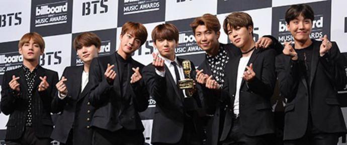 """""""Somos artistas coreanos, esperamos ter a oportunidade de nos apresentar no próximo BBMAs cantando em coreano"""""""