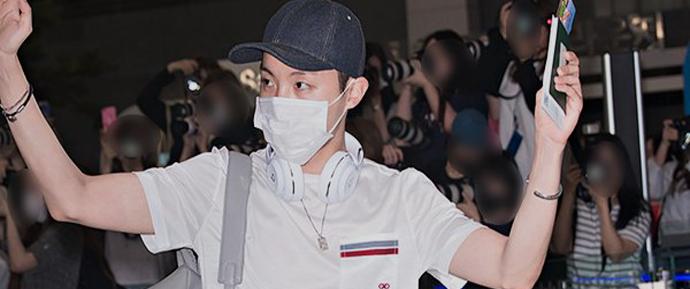 📷 BTS @ Aeroporto de Gimpo