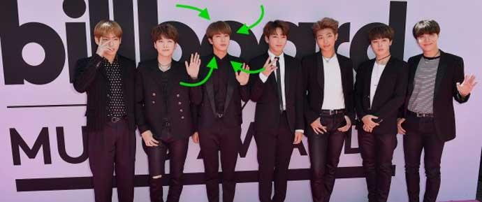 Jin se torna viral durante o BBMAs 2017 por ser realmente bonito (novamente)