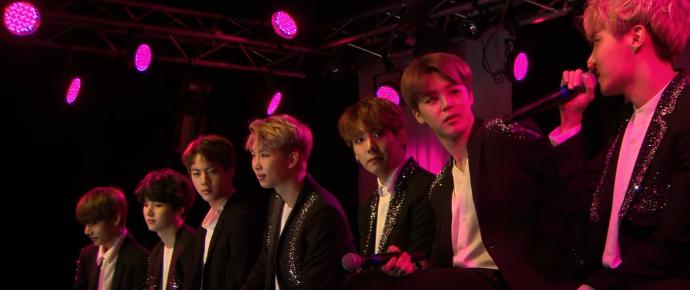 🎥 BTS no Secret Show