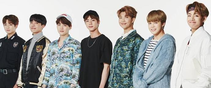 BTS é o primeiro e único grupo de K-Pop a ser ouvido mais de 50 milhões de vezes no Spotify