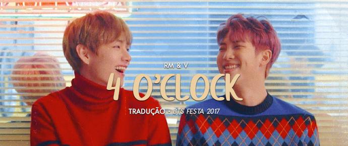 [LETRA] 4 O'Clock – RM & V