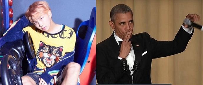 RM revela que 'MIC Drop' é inspirada no ex-presidente dos Estados Unidos Barack Obama