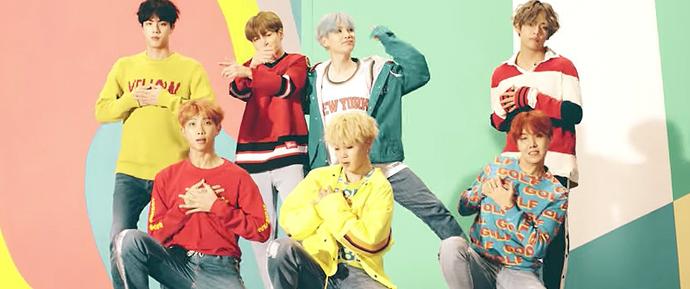 🎥 BTS envia mensagem para o Naver Music