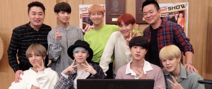 📷 BTS @ SBS Power FM Cultwo Show