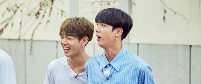 📷 Jin & JungKook @ Let's Eat Dinner Together