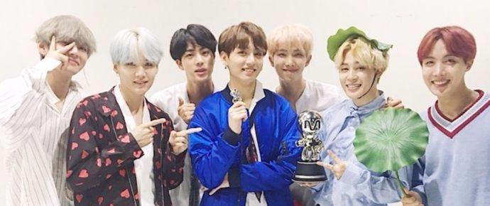 """BTS obtém sua terceira vitória com """"DNA"""", desta vez no """"M!Countdown"""""""
