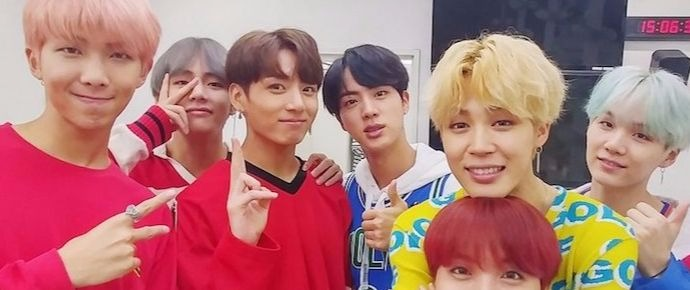 🎥 BTS vence prêmio do THE SHOW 2017