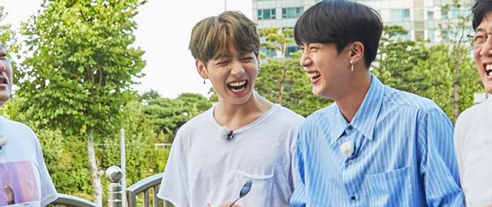 """Jungkook e Jin sentem o amor em """"Let's Eat Dinner Together"""""""